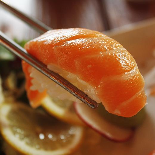 ikan salmon rendah kalori