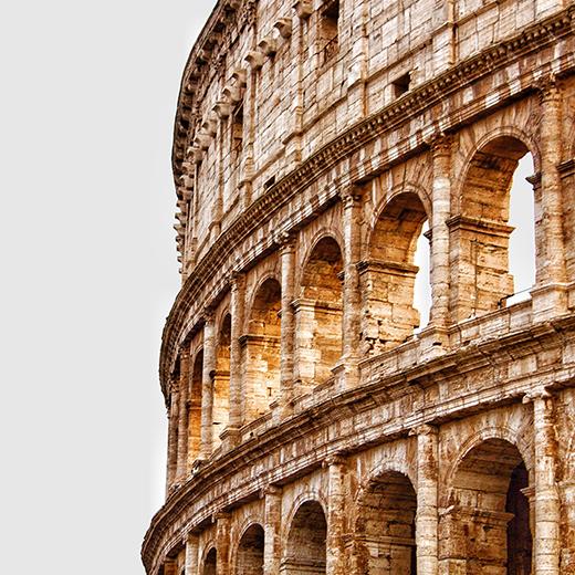 arsitektur kota Roma, Italia