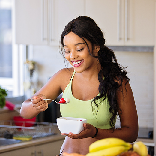 jaga diri dengan makan sehat